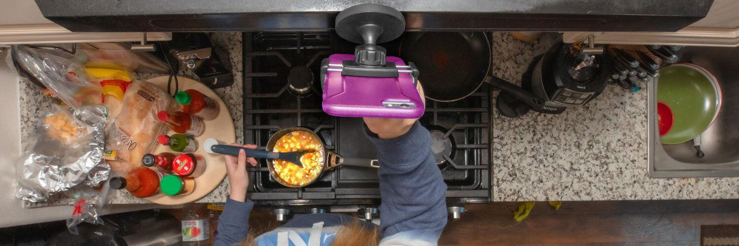 5 Useful Tablet Mounts for your Kitchen