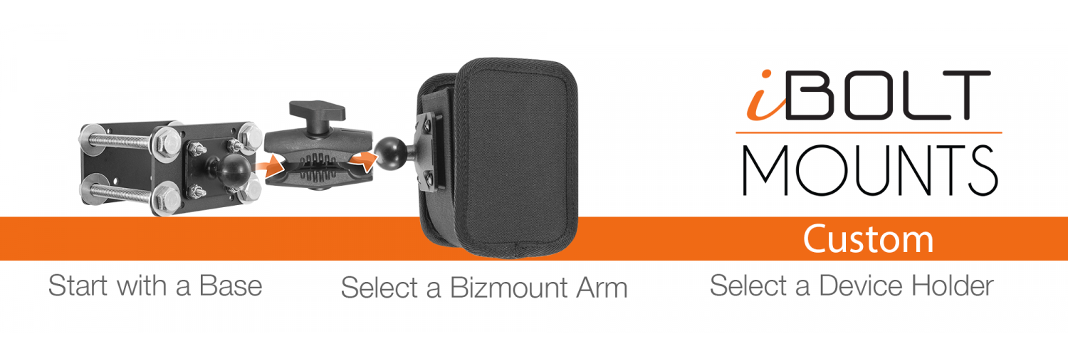 Create a Custom iBOLT Mounting Solution- now on Amazon.com