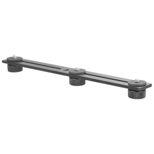3 Camera Slide Bar - 10 inch