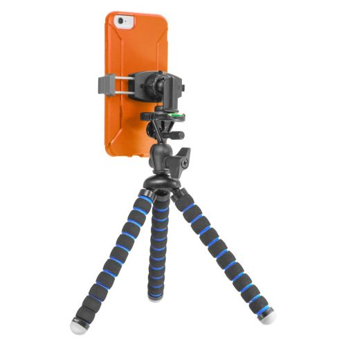 iBOLT Tripod miniPro XL Flexible 3-in-1 11 inch Tripod for Smartphones, Cameras, and GoPros