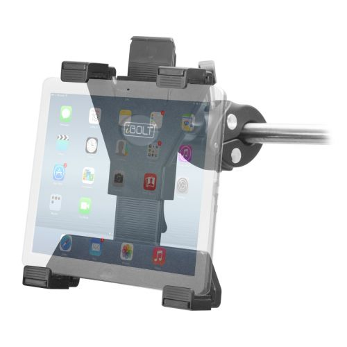 iBOLT TabDock Grip- Post/Pole Mount - Fits 7-10 inch Tablets and Posts 18mm-35mm in Diameter